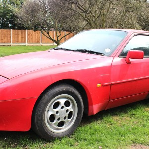 1989 Porsche 944 2.7 Guards Red Project Car