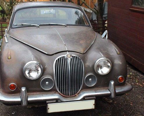 1968 MK 2 Jaguar 2.483cc, XF, Luxury, D, Auto in Brown Project Car